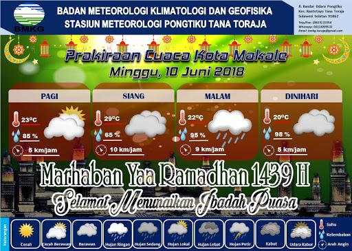 Ingin Berwisata di Toraja Hari ini? Jangan Lupa Sediakan Payung