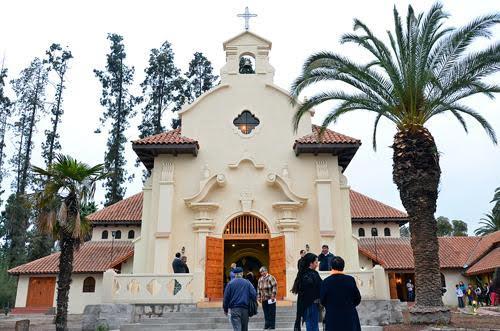 Iglesia del culebron en la actualidad