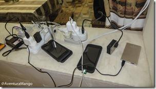 Carregamento de eletrônicos