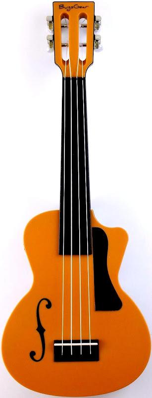 Bugsgear eleuke Aqulele plastic Concert scale Ukulele