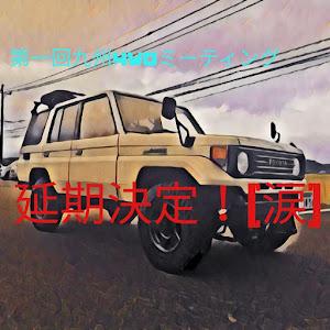 ランドクルーザー70 HZJ77HV ZXのカスタム事例画像 yoshiポンさんの2020年03月31日13:04の投稿