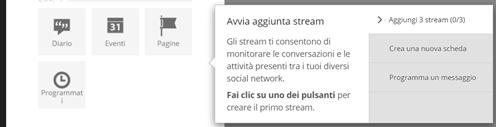 aggiunta-stream