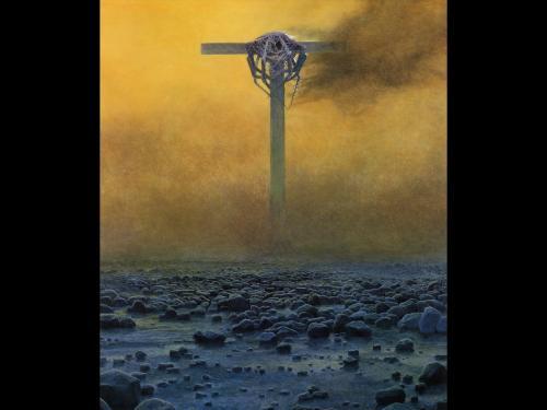 Zdzislaw Beksinski Dead Stones, Death