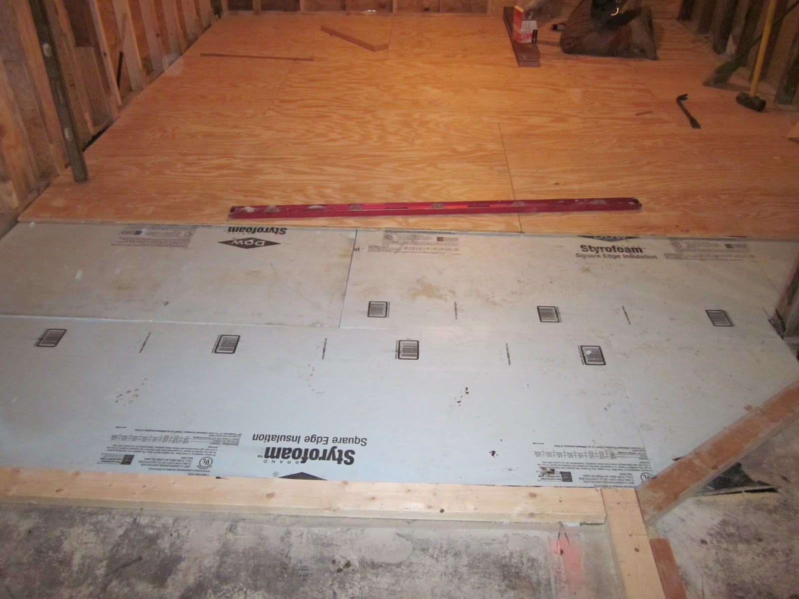 Kevin And Becca's House: A Subfloor Sandwich