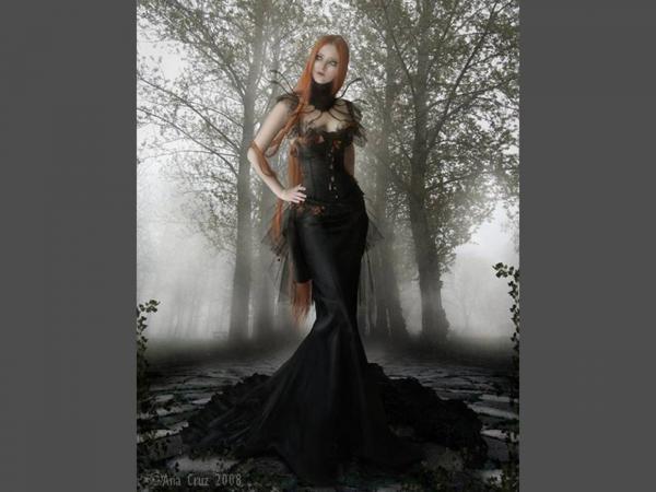 Sexy Matron Girl, Gothic