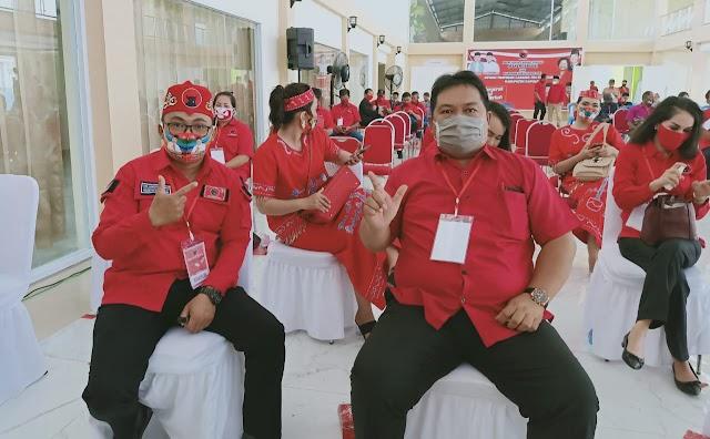 Legislator Kapuas asal PDIP Ini Hadiri Rakercabsus