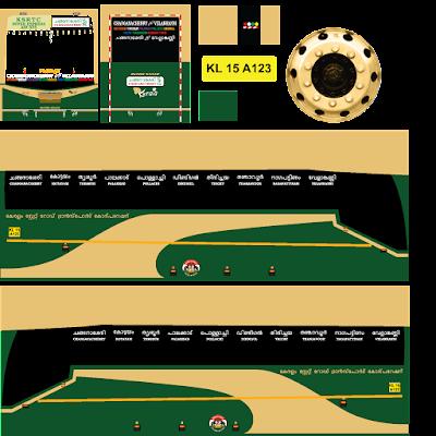 BUSSID : KSRTC Kerala - velankanni bus livery download | Kerala bus livery download | bus simulator indonesia livery