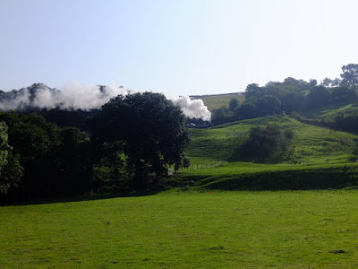 Railway through the hills