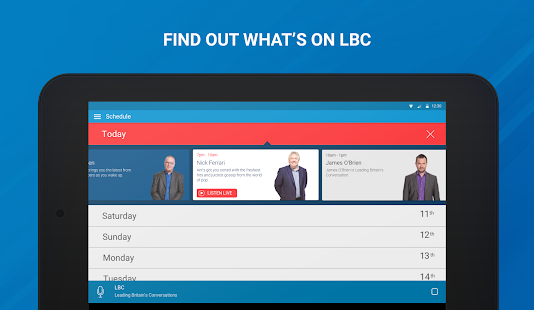 LBC Radio App- screenshot thumbnail