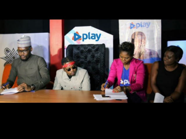 Olamide Bags New Endorsement With Cable And Satelite Company, Play Nigeria (Photos)