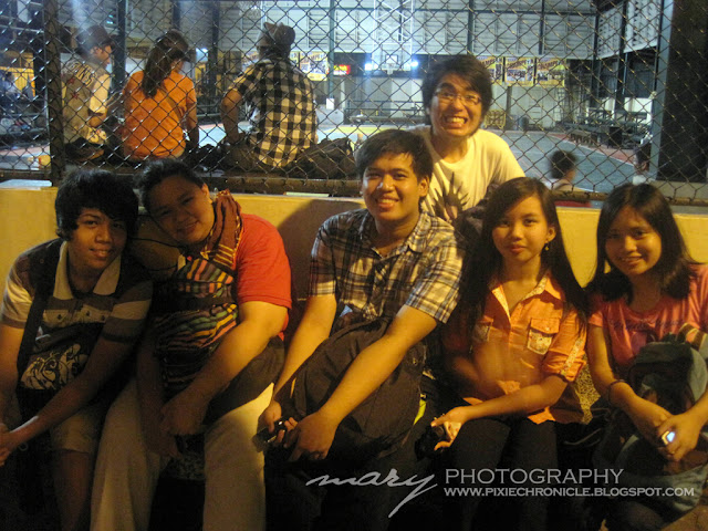 My Friends and I at UST Paskuhan