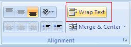 Cara membuat tulisan 2 baris dalam satu kotak excel
