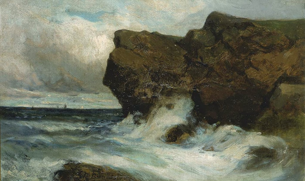 Edward Mitchell Bannister - Ocean Cliffs