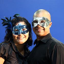 Casais Mascaras
