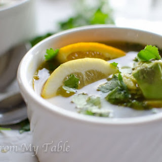 Citrus Chicken Soup.