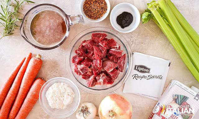 pressure cooker beef stew ingredients