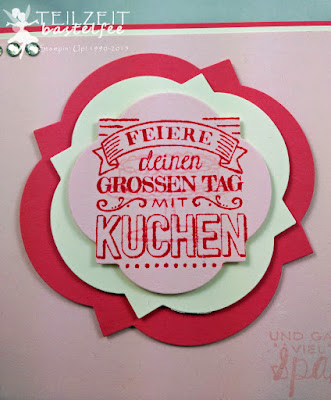 Stampin' Up! - In{k}spire_me #197,  Geburtstag, Birthday, Zum großen Tag, Big Day, SAB, Framelits Art Déco, Window Frames
