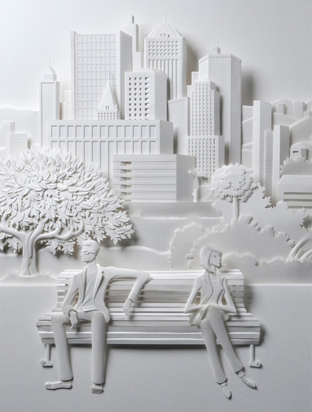 Супер яко 3Д изкуство от хартия