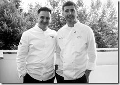 foto chef Iavarone e D'Agostino