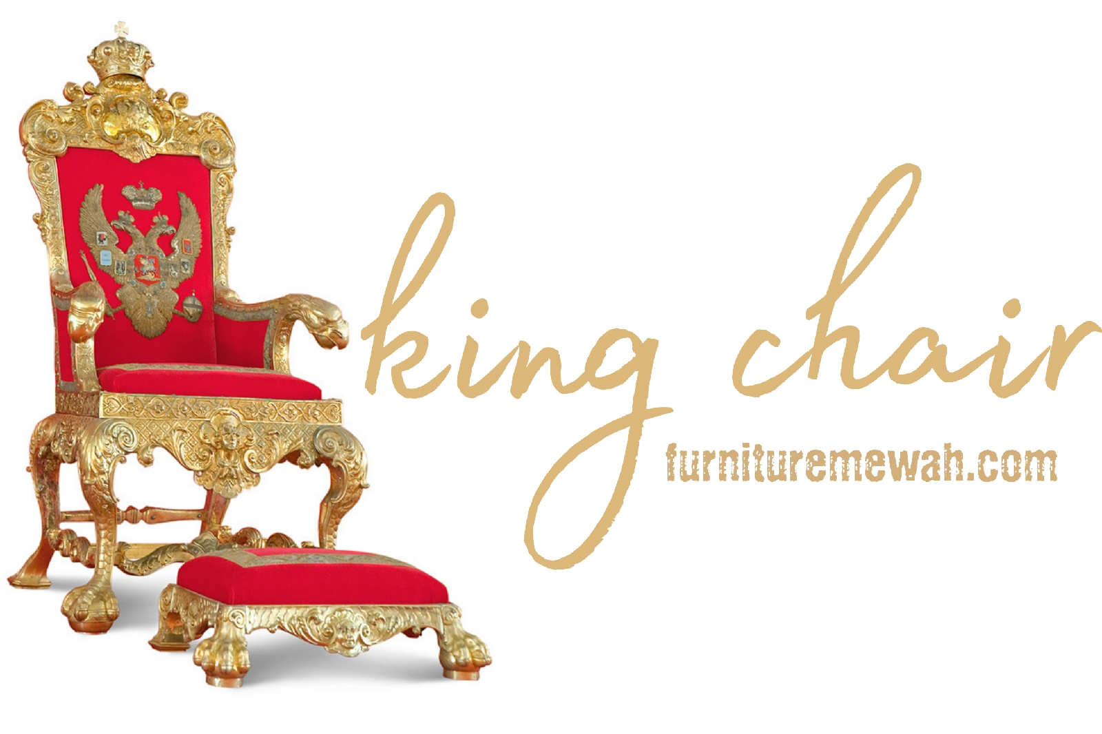 King and Queen Chair Kursi Raja Mewah