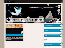 Anime Templates for Blogger: Black Rock Shooter