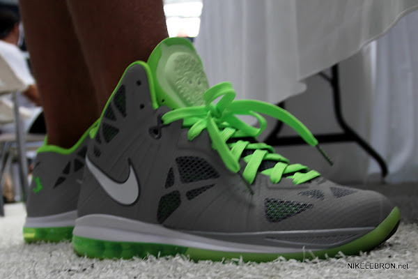 Nike LeBron 8 PS Dunkman Sample with Matte Finish