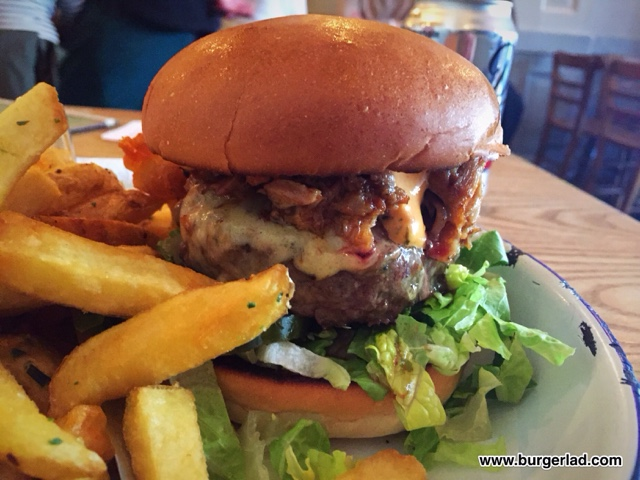 Honest Burgers Ribman Special