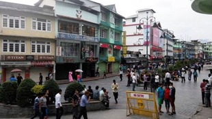 Gangtok MG Road Sikkim