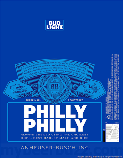 Bud Light Adding New Philly Philly Cans