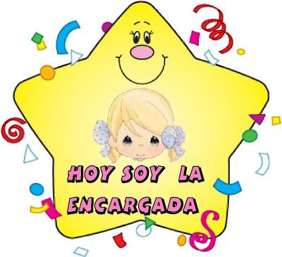 Los duendes y hadas de ludi d as de la semana y estrellas for Cartel comedor infantil