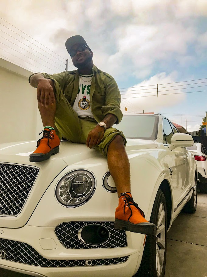 Corper Wee!!! Davido Shares Photos Of Himself In His NYSC Kit