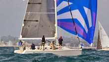 J/109 sailing at Cal Race Week