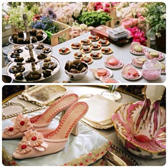 Marie Antoinette Movie Slippers Dessert