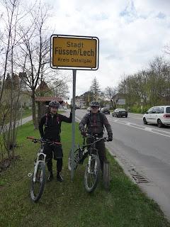 BIKEN Lech Höhenweg 16.4.2011
