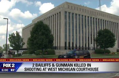 2 bailiffs killed by inmate in courthouse