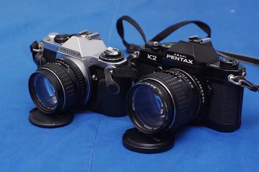 新玩具~老相機PENTAX K2 試拍