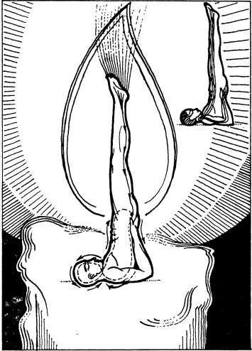 6. Упражнение «Сарвангасана» (свеча)