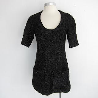 Chanel Metallic Tweed Tunic