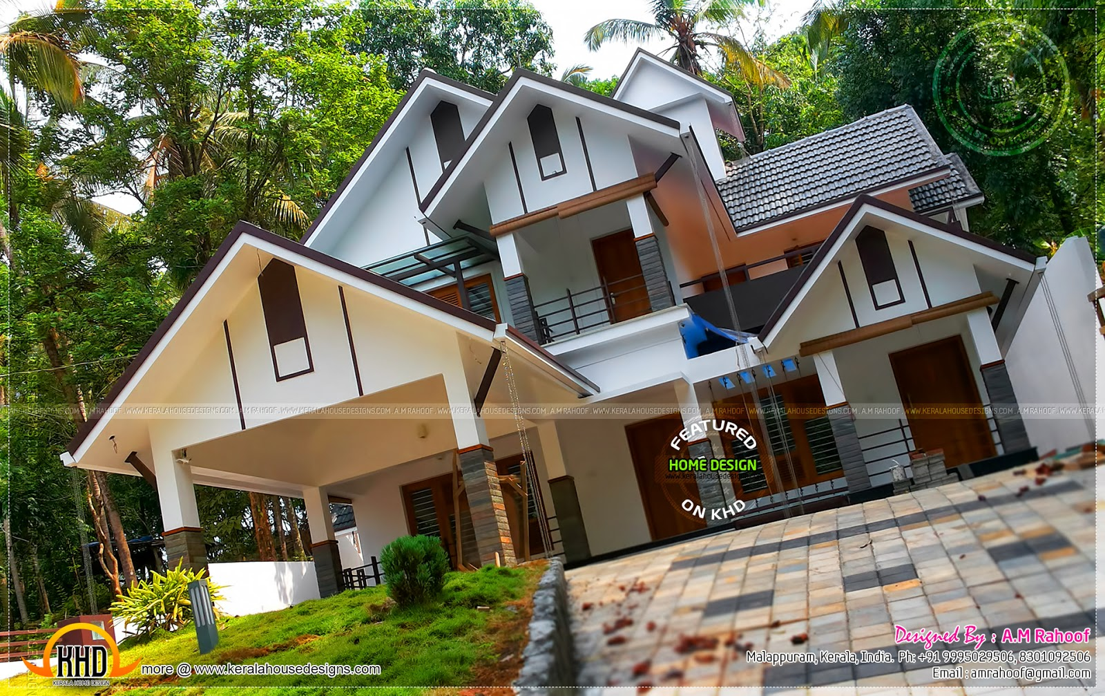 Building new house kerala home design and floor plans for In ground home designs
