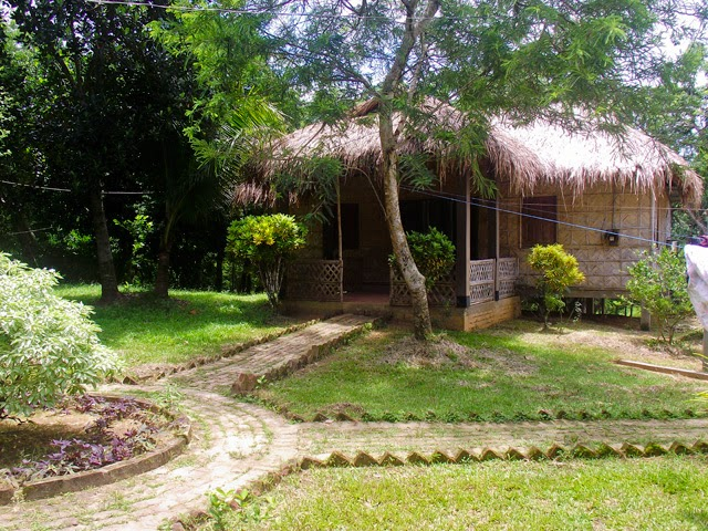 A cottage at Nisorgo Eco Resort where you'll stay during this tour