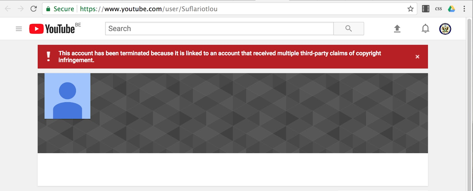 Youtube has deleted my channel and i\'m unable to recover it ...