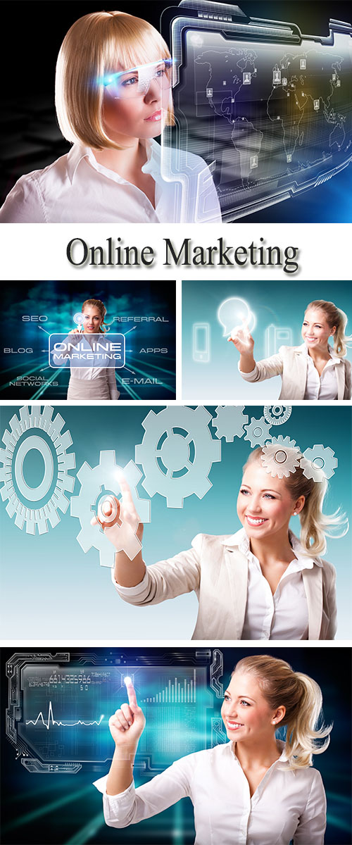 Stock Photo: Online Marketing 4