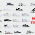 Adidas Men's or Women's Sneakers Only $20.99 + Free Shipping & Free Shipping Back on Returns