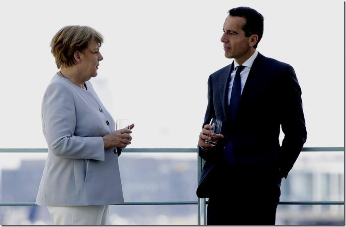 Merkel mit Kern