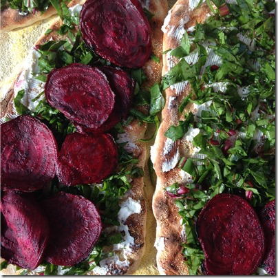 Grilled Beet and Goat Cheese Pizza (4) | Photo | The Lisa Porter Collection