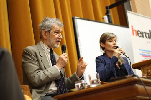 Conferinta publica: psihanalistul Luigi Zoja la Bucuresti - despre istoria arogantei si mitul cresterii nelimitate - Bucuresti 2014