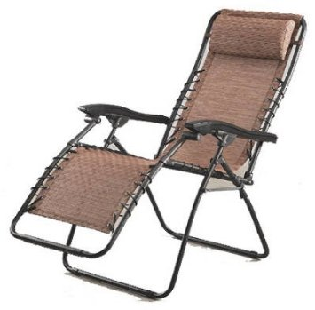 Courtyard Creations Brz Recliner Chair Fts6965 Br Folding