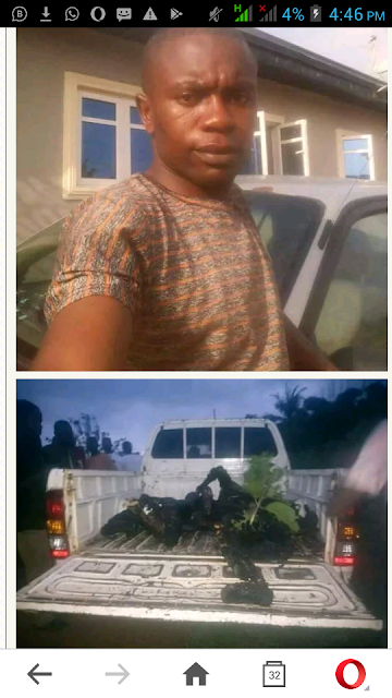 A Nigerian police officer took to Facebook to share the story of her colleague,Sgt Christian, and others were killed by armed robbers.According to her,they were killed and burnt by the robbers.