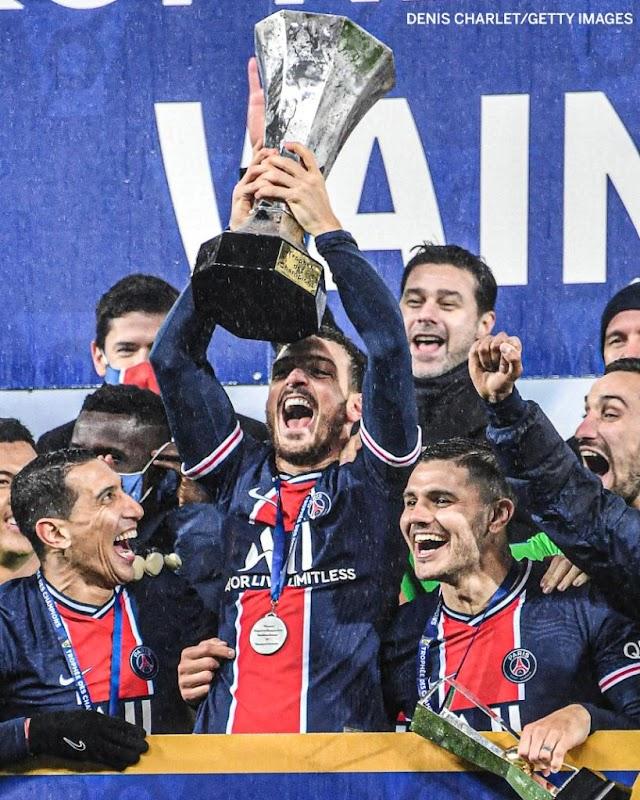 Icardi, Neymar Scores As PSG Defeats Marseille 2-1 In Trophees Des Champion