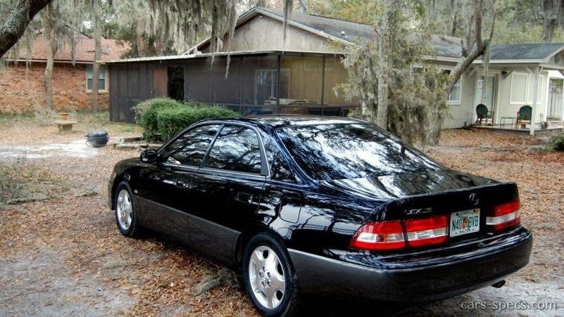 1998 Lexus Es 300 Sedan Specifications  Pictures  Prices